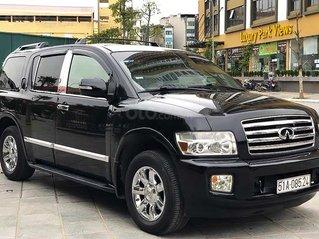 Cần bán lại xe Infiniti QX56 V6 năm sản xuất 2005, màu đen, nhập khẩu giá cạnh tranh