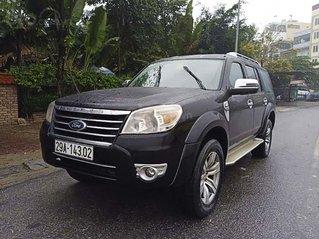 Cần bán gấp Ford Everest 2.5L 4x2 MT năm 2011, màu đen