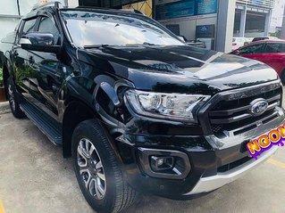 Cần bán xe Ford Ranger Wildtrak 2.0L 4x4 sản xuất năm 2018, màu đen, nhập khẩu