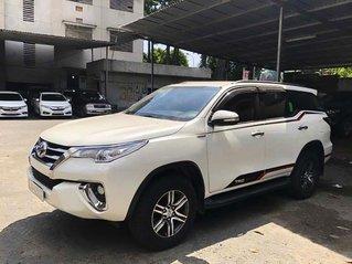 Cần bán Toyota Fortuner 2.8 sản xuất năm 2017, màu trắng, nhập khẩu