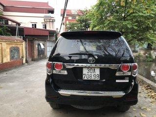 Bán Toyota Fortuner năm 2015, màu đen, giá tốt