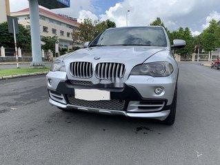 Xe BMW X5 năm sản xuất 2008, màu bạc, nhập khẩu nguyên chiếc