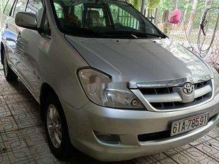 Bán ô tô Toyota Innova đời 2007, màu bạc