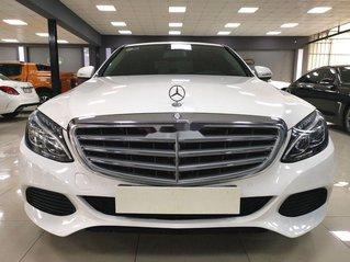 Cần bán lại xe Mercedes C 250 đời 2015, màu trắng