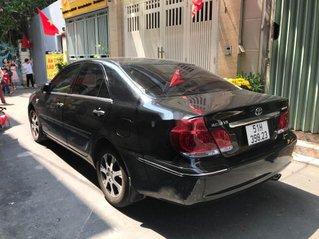 Cần bán gấp Toyota Camry đời 2004, màu đen, xe nhập, giá tốt