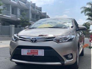 Bán Toyota Vios sản xuất năm 2018, màu vàng