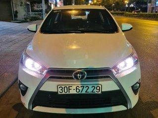 Bán ô tô Toyota Yaris năm sản xuất 2017, màu trắng, 555 triệu