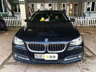 Xe BMW 5 Series 520i đời 2016, màu đen, xe nhập