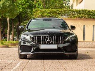 Cần bán gấp Mercedes C300 AMG đời 2017, màu đen, giá tốt