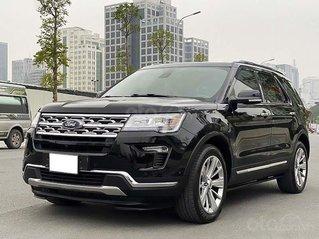 Cần bán Ford Explorer Limited đời 2018, màu đen, nhập khẩu