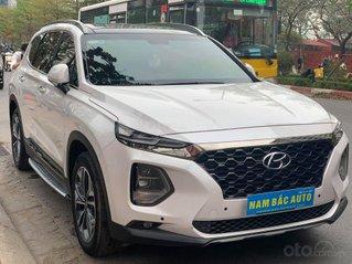 Bán Hyundai Santa Fe đời 2019, màu trắng giá cạnh tranh