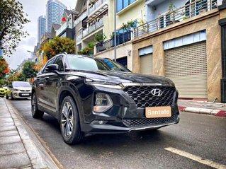 Bán Hyundai Santa Fe sản xuất 2019, màu đen số tự động