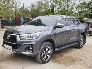 Bán ô tô Toyota Hilux sản xuất 2019, màu xám, nhập khẩu còn mới, giá tốt