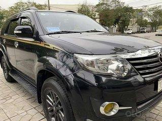 Cần bán Toyota Fortuner sản xuất 2016, màu đen