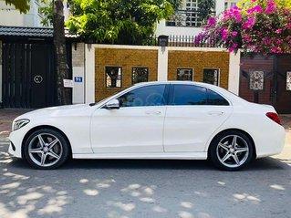 Cần bán lại xe Mercedes C300 đời 2015, màu trắng, nhập khẩu
