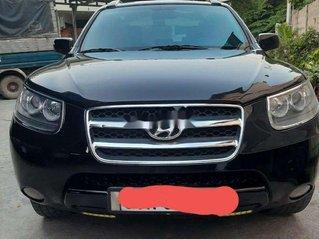 Xe Hyundai Santa Fe 2008, màu đen, nhập khẩu nguyên chiếc