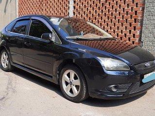 Bán xe Ford Focus năm 2007, màu đen, xe gia đình