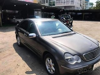 Bán Mercedes C class năm 2002, màu xám còn mới