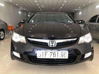 Cần bán gấp Honda Civic sản xuất 2008, màu đen