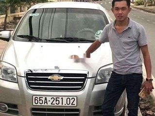 Bán Daewoo Gentra đời 2009, màu bạc, xe nhập