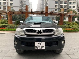 Cần bán Toyota Hilux đời 2010, màu đen, nhập khẩu