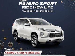 Bán Mitsubishi Pajero Sport sản xuất 2021, màu trắng, nhập khẩu