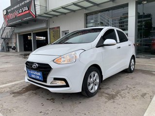 Bán Hyundai Grand i10 năm sản xuất 2018, màu trắng