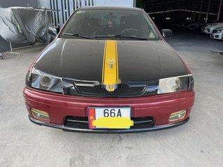 Cần bán Mazda 323 sản xuất 1999, màu đỏ, nhập khẩu