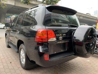 Cần bán Toyota Land Cruiser năm 2008, màu đen, nhập khẩu nguyên chiếc
