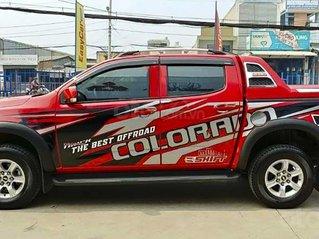 Cần bán lại xe Chevrolet Colorado LT 2.5L 4x2 AT sản xuất năm 2018, màu đỏ, xe nhập