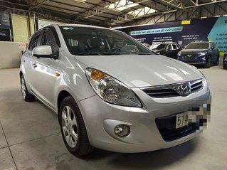Xe Hyundai i20 1.4AT sản xuất năm 2011, màu bạc, nhập khẩu, 306 triệu