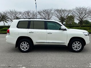 Bán Toyota Land Cruiser VX 4.6-V8 năm 2016, màu trắng, xe nhập