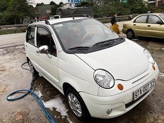 Cần bán lại xe Daewoo Matiz sản xuất 2007, màu trắng