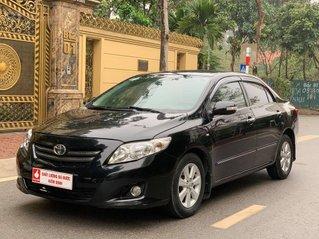 Bán xe Toyota Corolla Altis đời 2009, màu đen giá cạnh tranh