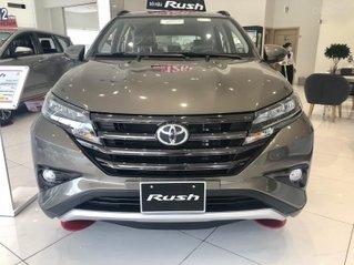 Toyota Rush 2021 tặng 1 năm bảo hiểm thân xe, đủ màu, giao ngay, 205tr nhận xe