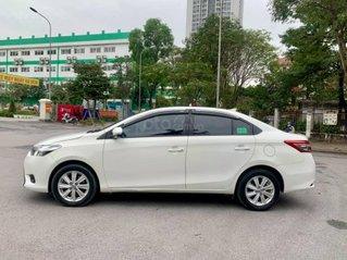 Bán ô tô Toyota Vios sản xuất năm 2018, màu trắng, giá tốt đi 60000 km