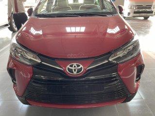 Bán Toyota Vios 1.5G màu đỏ, giao ngay