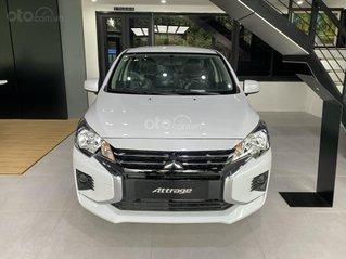 Cần bán Mitsubishi Attrage MT (số sàn) 2021 nhập khẩu Thái Lan, hỗ trợ 19 triệu thuế trước bạ