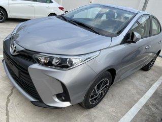 Bán Toyota Vios 1.5E CVT màu bạc, giao ngay