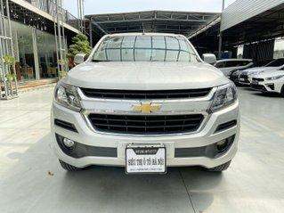 Bán xe Chevrolet Trailblazer xe màu bạc thể thao, trả góp chỉ 206 triệu
