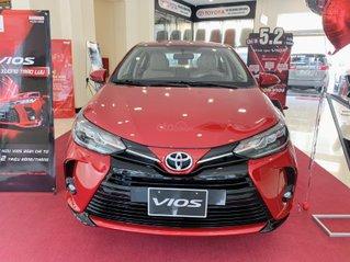 Toyota Vios 2021 giá cực ưu đãi nhất, đủ màu, thanh toán trước 120tr đồng nhận xe ngay