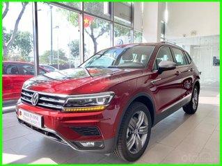 Tiguan Luxury S 2021 màu đỏ Ruby độc đáo, xe có sẵn, giao ngay, tận nhà + gói phụ kiện LH Mr Thuận