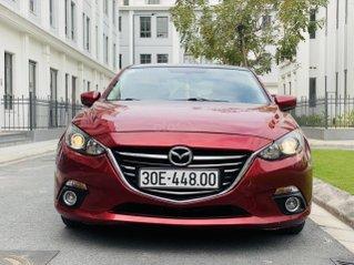 Bán nhanh siêu phẩm Mazda 3 sedan 2015, đỏ pha lê, biển Hà Nội, chạy xịn 50.000 km