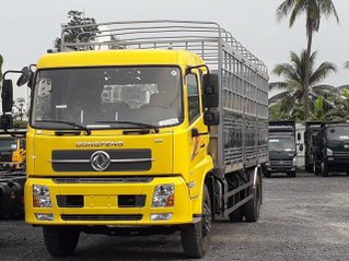 Bán xe tải Dongfeng Hoàng Huy B180 9 tấn nhập khẩu thùng dài 7.5 - xe có sẵn, giao tận nhà - bỏ vốn ít nhận xe mới 100%