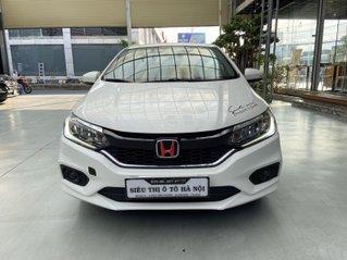 Bán xe ô tô Honda City sản xuất 2019, xe màu trắng, siêu mới, trả góp chỉ 183 triệu