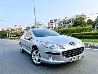 Peugeot 407 nhập mới Pháp 2008 loại Limited, full đồ chơi, số tự động, nội thất niệm da zin cao cấp đẹp