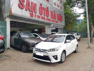 Toyota Yaris màu trắng xe nhập khẩu nguyên chiếc, sản xuất 2016 số tự động xe tư nhân