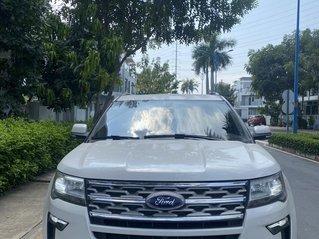 Ford Explorer trắng 2018 đăng kí 2019, xe đẹp giá hợp lý