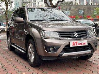 Cần bán gấp Suzuki Grand vitara đời 2015, màu nâu, nhập khẩu Nhật Bản