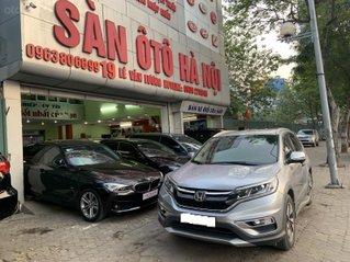 Honda CRV 2.4TG năm 2016 màu ghi bạc, xe tư nhân chính chủ